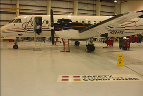 Airplane Hangar Coatings